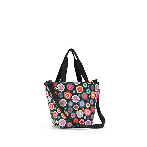 Reisenthel shopper XS Borsa da spiaggia, 31 cm, 4 liters, Multicolore (Happy Flowers)