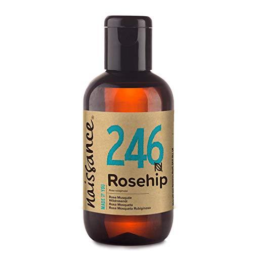 Naissance Olio di Rosa Mosqueta 100ml – Idratante, Nutriente ed Emolliente per tutti i tipi di pelle – Utile per viso, capelli e unghie