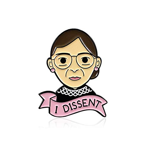 Femminismo Spilla Best Friends, Girl Power, I Dissent smalto Pin Honeybee Rose Amicizia Uterus Sisters For Women Feminist Badge, Style 5