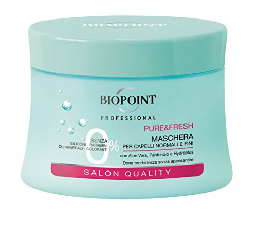 Biopoint Pure & Fresh Maschera (Per Capelli Normali E Fini) - 250 ml.