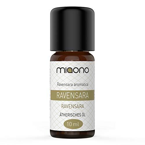Ravensara Olio essenziale 100% naturale (10 ml) di Miaono (bottiglia di vetro)