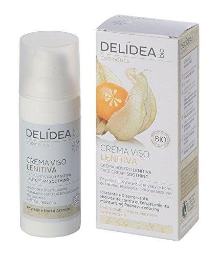 delidea Bio Viso Crema Lenitiva physalys e fiori d' arancio, 1er Pack (1X 1pezzi)