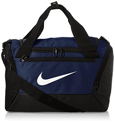 Nike Brasilia, Borsone Unisex – Adulto, Midnight Navy/Black/(White), Taglia Unica