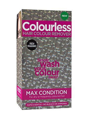 Colourless, prodotto per la rimozione del colore dai capelli Max Condition