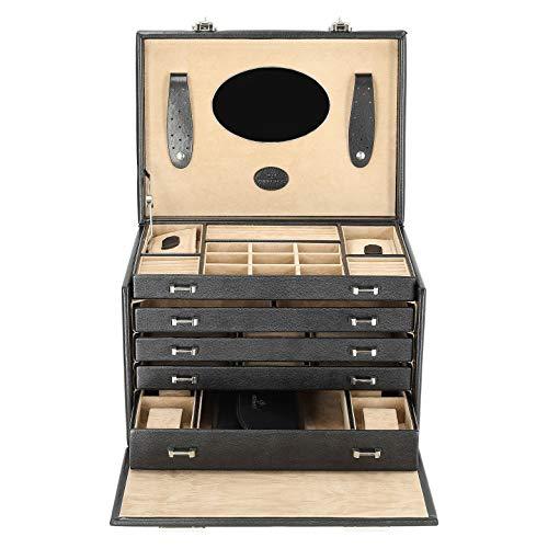 Windrose Gioielli Merino / gioielli orologi caso con tasca integrata [Varie.]