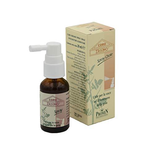 Coro Erisimo Spray Integratore alimentare in tintura idroalcolica di Erisimo, Timo serpillo e olio essenziale di Melaleuca