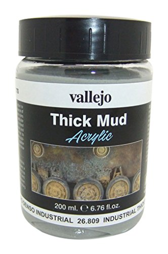 Vallejo Game Effects - Effetto Industriale di Fango, 200 ml , Beige (Industrial Thick Mud)