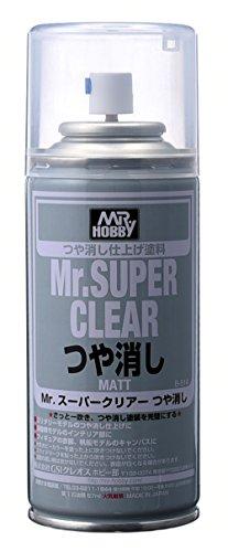 Gundam Paint Mr. Hobby Mr. Super Clear Flat 170ml B-514