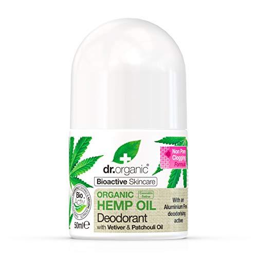 Dr. Organic Hemp Oil Deodorante, Verde - 50 ml