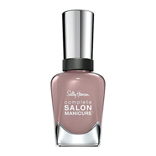 Sally Hansen, Smalto Complete Salon Manicure, 7 Benefici in 1, con Cheratina Rinforzante, a Lunga Durata, 374 Mauve Along