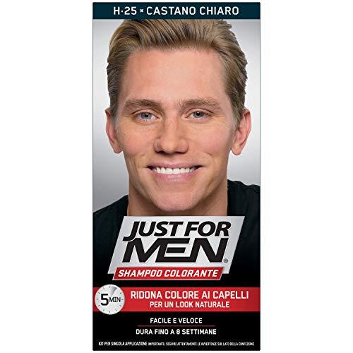 Just for men Shampoo Colore Castano - 00 G, H25 - Castano Chiaro