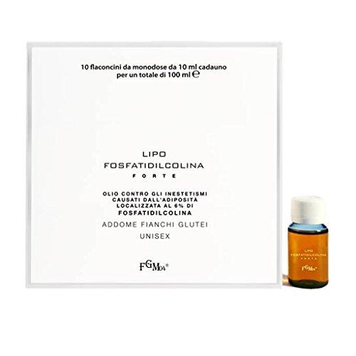 FGM04 Lipo Fosfatildilcolina Forte, Contrasta gli Inestetismi dell'Adipe Localizzato, 10 ml (10 Flaconcini)