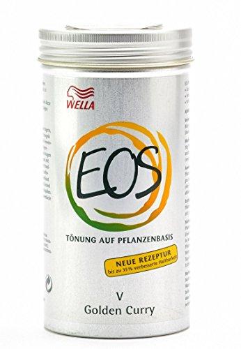 Wella EOS V Golden Curry Pianta toenung, 1er Pack (1X 120G)