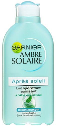 Garnier Ambre Solaire dopo sole Latte Idratante Emolliente all' Aloe Vera 200ml