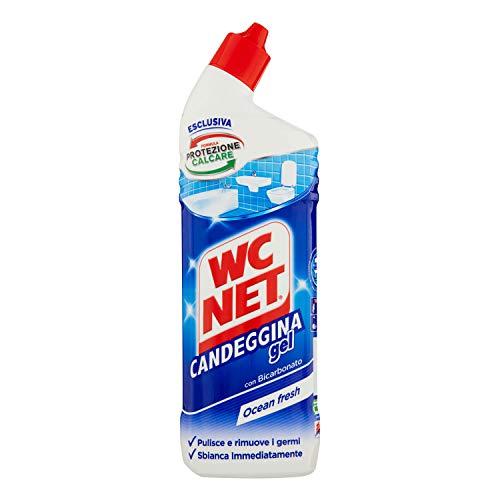 Wc Net Candeggina Gel Extra White, Detergente per Sanitari e Superfici, Essenze Assortite a Seconda della Disponibilità, 700 ml