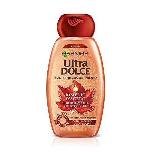 Garnier Ultra Dolce Rimedio d'Acero Shampoo, Riparatore Intenso - 250 ml