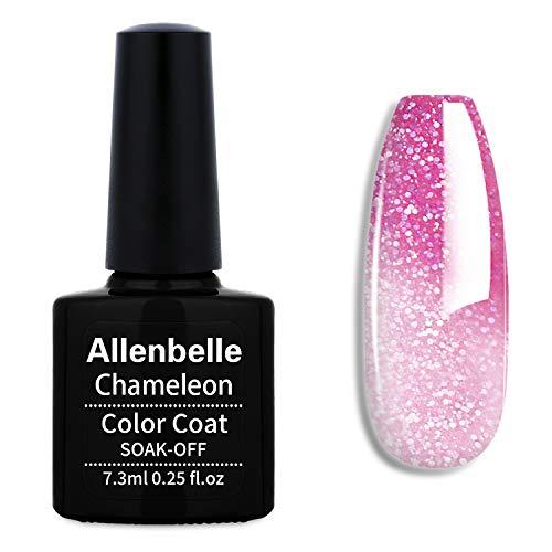 Allenbelle Smalto Semipermanente Camaleonte Nail Polish UV LED Gel Unghie 7.3ml 5738