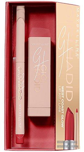 Maybelline New York Collezione Gigi Hadid Lip Kit Rossetto Matte e Matita Labbra in Edizione Limitata, Lani
