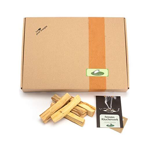 400 grs - pacchetto all'ingrosso Sticks Palo sacred Santo (Bursera graveolens). Durata media: 9-10cm (9,5 x2x4 cm, 15-25grs da Native Spirit)