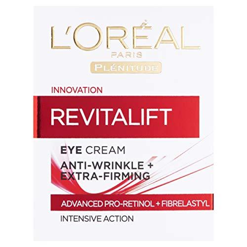 L'Oréal Revitalift, Crema Contorno Occhi Anti-Age, 15 ml [Versione inglese]