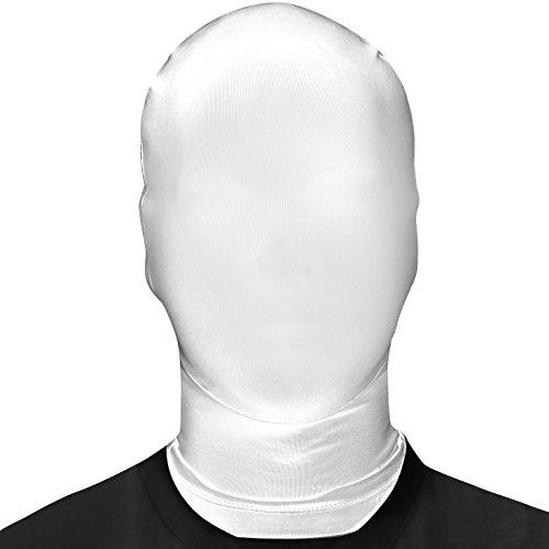 Morphsuits - Maschera di Carnevale, bianco