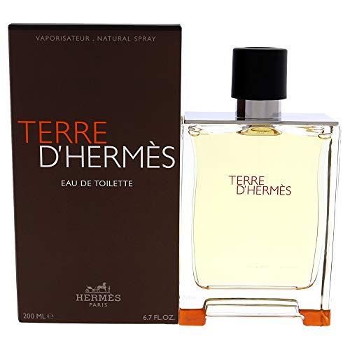 Hermes Terre d'Hermes Eau De Toilette, Uomo, 200 ml