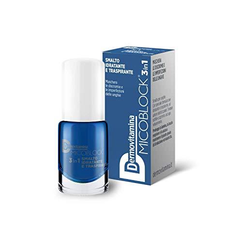 Dermovitamina Micoblock Smalto Idratante E Traspirante Blu - 5 Ml