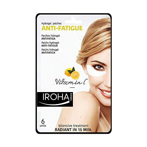 Iroha Nature Patch Idrogel Occhi, Antifatica con Vitamina C, 3 usi
