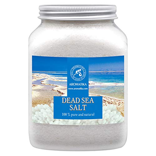 Sale del Mar Morto 1000g - Naturale e Puro al 100% - Sali del Mar Morto 1Kg - Meglio per il Buon Sonno - Antistress - Bagno - Bellezza - Rilassante - Sali da Bagno