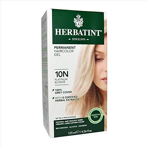 Herbatint Gel Colorante Permanente 10N Biondo Platino 150 ml
