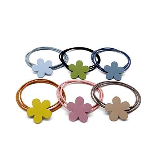 Head Rope, Flower Rubber Band Hair Ring Accessori Per Capelli, 30 Pezzi