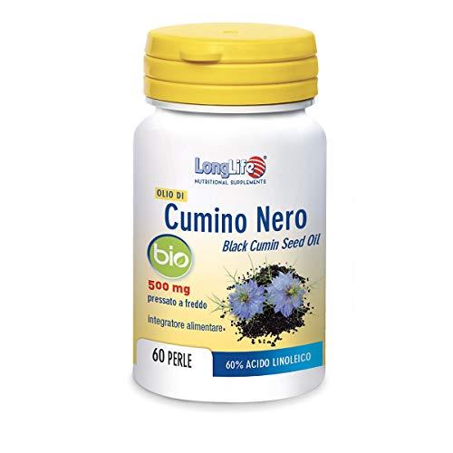 LongLife Olio Di Cumino Nero Bio 500 Mg - 45 g
