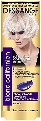 Dessange–Blond californiano Cura Patina Correttore di Blond per capelli biondi, tinti o fortemente eclaircis–125ml