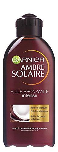 Garnier - Ambre Solaire - abbronzatura Olio sole - intenso, con sentori di Coco
