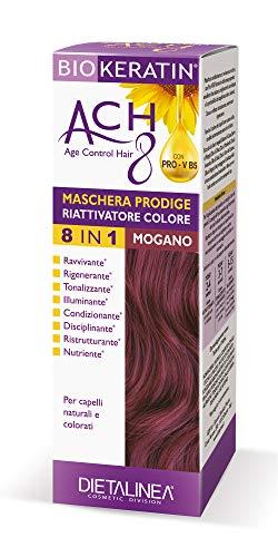 Dietalinea - Maschera Capelli Prodige Riattivatore Biokeratin ACH8 - Colore Mogano