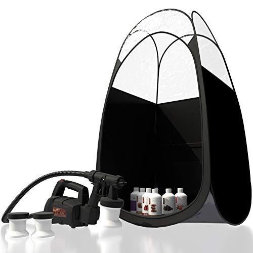 Maximist Lite Plus – Completo Abbronzatura Kit (Inclusi Nero Tenda & Suntana Spray Abbronzante Soluzioni)
