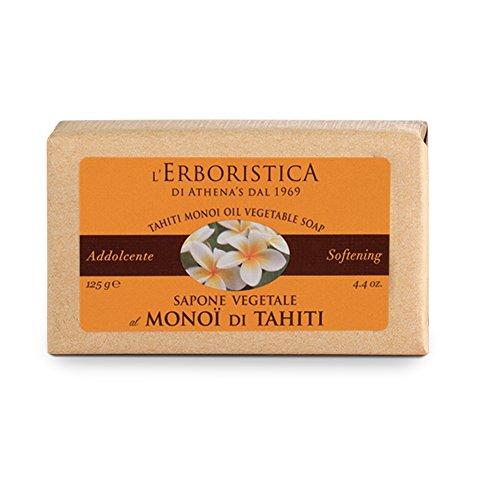 Sapone vegetale di Monoi di Tahiti 125 g.