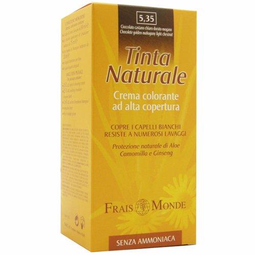 TINTA NATURALE FRAIS MONDE COLORE 5.35 CIOCCOLATO CASTANO CHIARO DORATO MOGANO