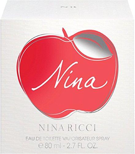 Nina Ricci Nina Eau De Toilette Spray Donna 80ml Fragranza Per Lei