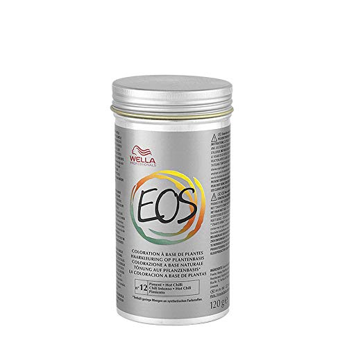 Wella - Eos Colore Chili Intenso 120 Gr- Linea Eos Colorazione Naturale -