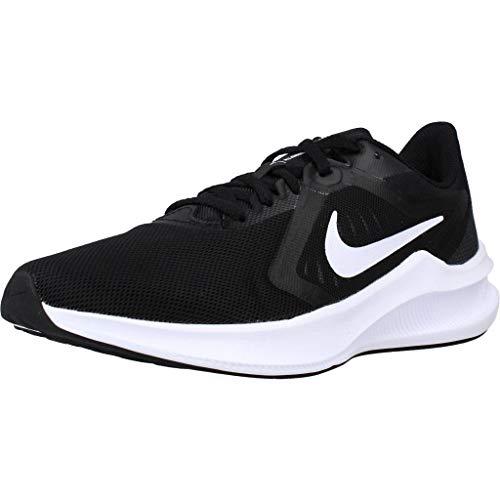 Nike Wmns Downshifter 10, Scarpe da corsa Donna, Nero (black/white-anthracite), 37.5 EU