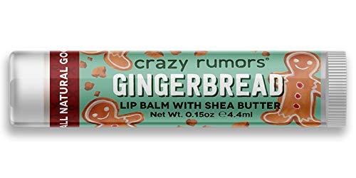 Crazy Rumors, Lip Balm, Gingerbread, 0.15 oz by Crazy Rumors