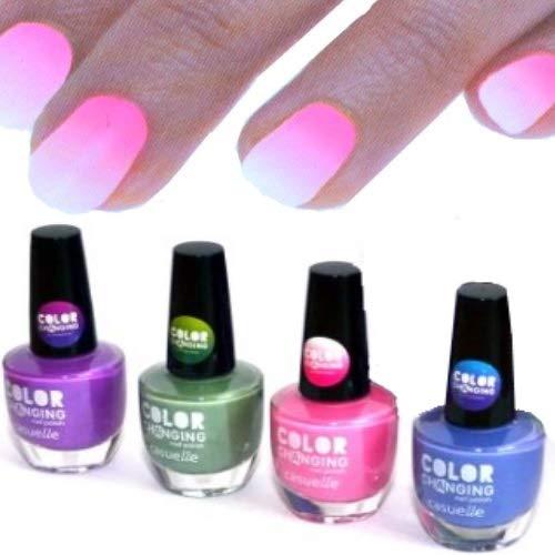 Smalto per unghie, effetto termico, cambia in 4 colori