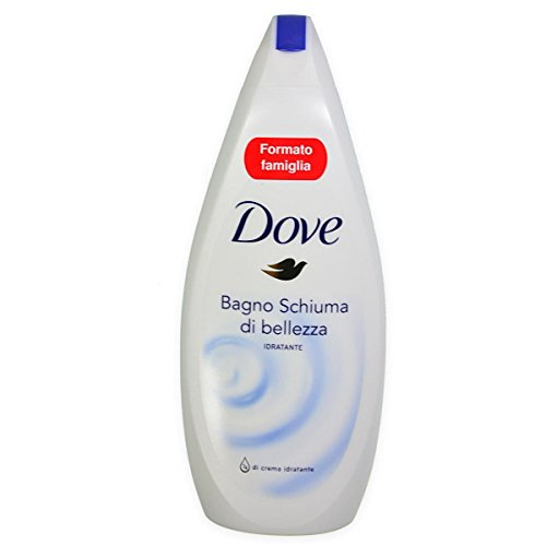 6 X Dove Bagnoschiuma di Bellezza Idratante 700 ml