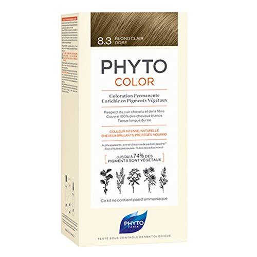 Phyto Color 8.3 Rubio Claro Dorado - 40 ml