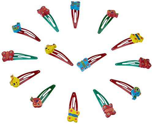 small foot company 7992 - Mollette per capelli, set da 12, colore: Multicolore