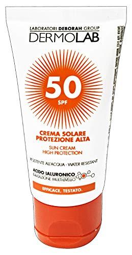 DERMOLAB BY DEBORAH CREMA SOLARE ANTIMACCHIA PROTEZIONE MOLTO ALTA SPF 50+ ML.50 VISO WATERPROOF