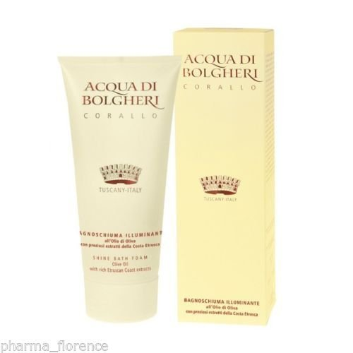Acqua di Bolgheri Bagnoschiuma Illuminante Corallo Bath Foam Dr Taffi 200ml
