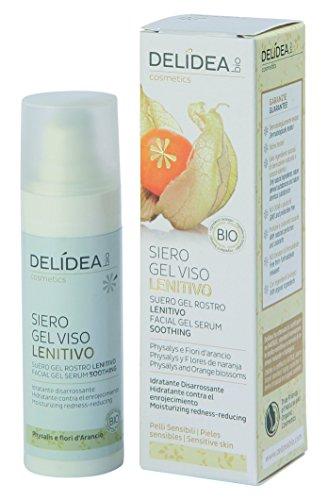 delidea Bio Gel di siero Cura del viso reizlindernd physalys e fiori d' arancio, 1er Pack (1X 1pezzi)