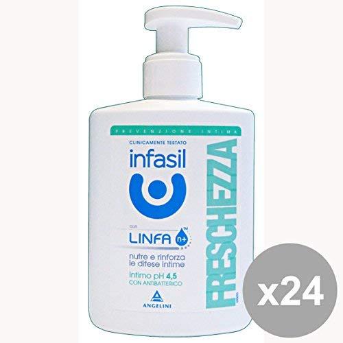 Set 24 INFASIL Sapone INTIMO Freschezza 200 Ml. Saponi e cosmetici